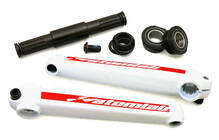 Atomlab GI 3 Piece Cromo Cranks white